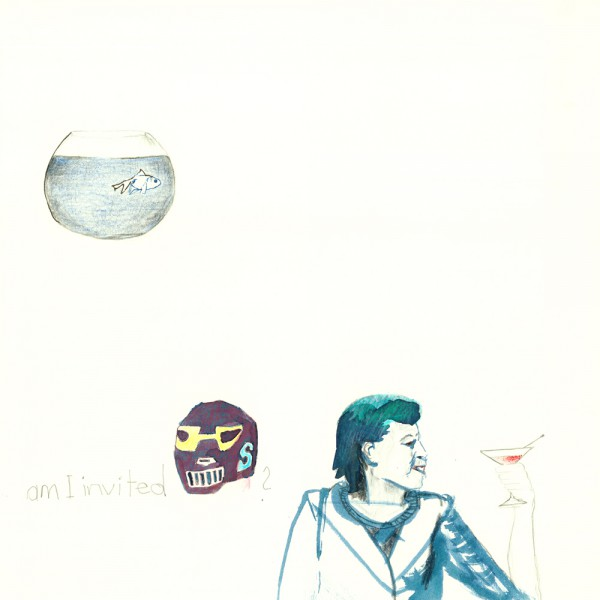 am i invited, 30 x 30 cm, 2012, mixed media
