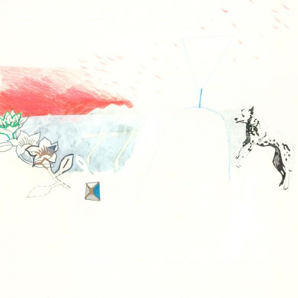 dalmatiner, 30 x 30 cm, 2012, mixed media