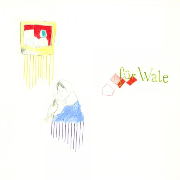 für wale, 30 x 30 cm, 2012, mixed media