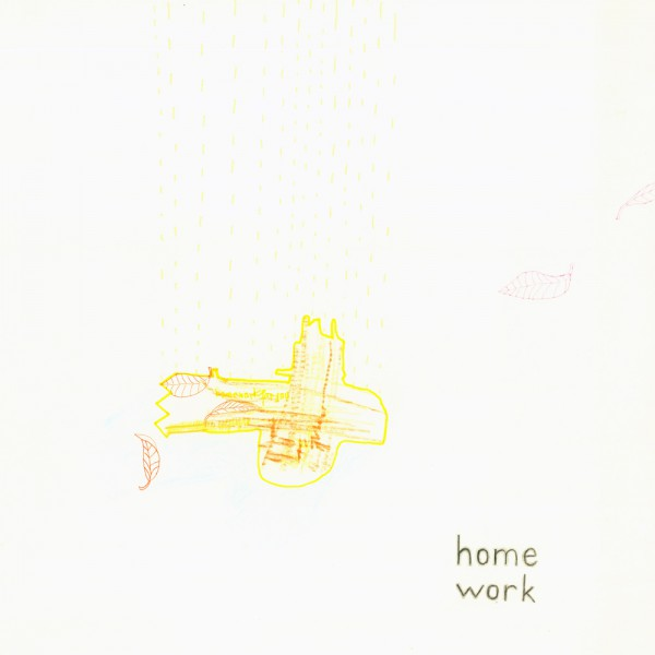 homework, 30 x 30 cm, 2012, mixed media