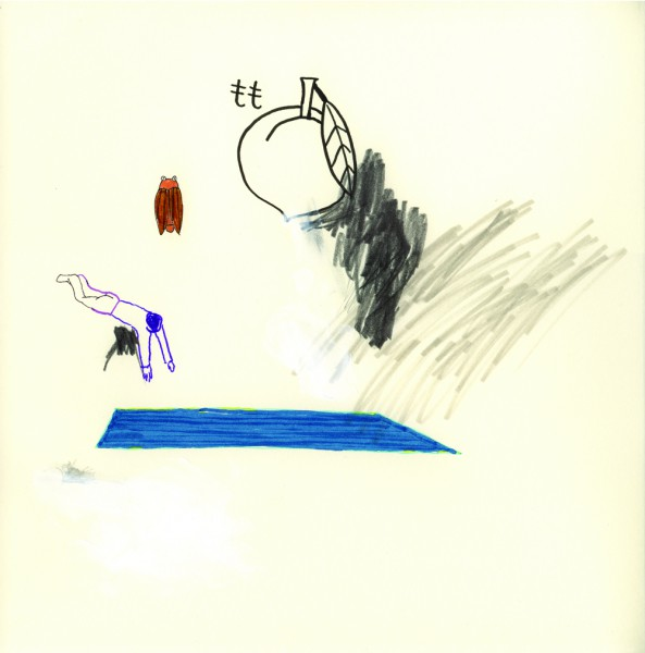 pool, 30 x 30 cm, 2009, mixed media